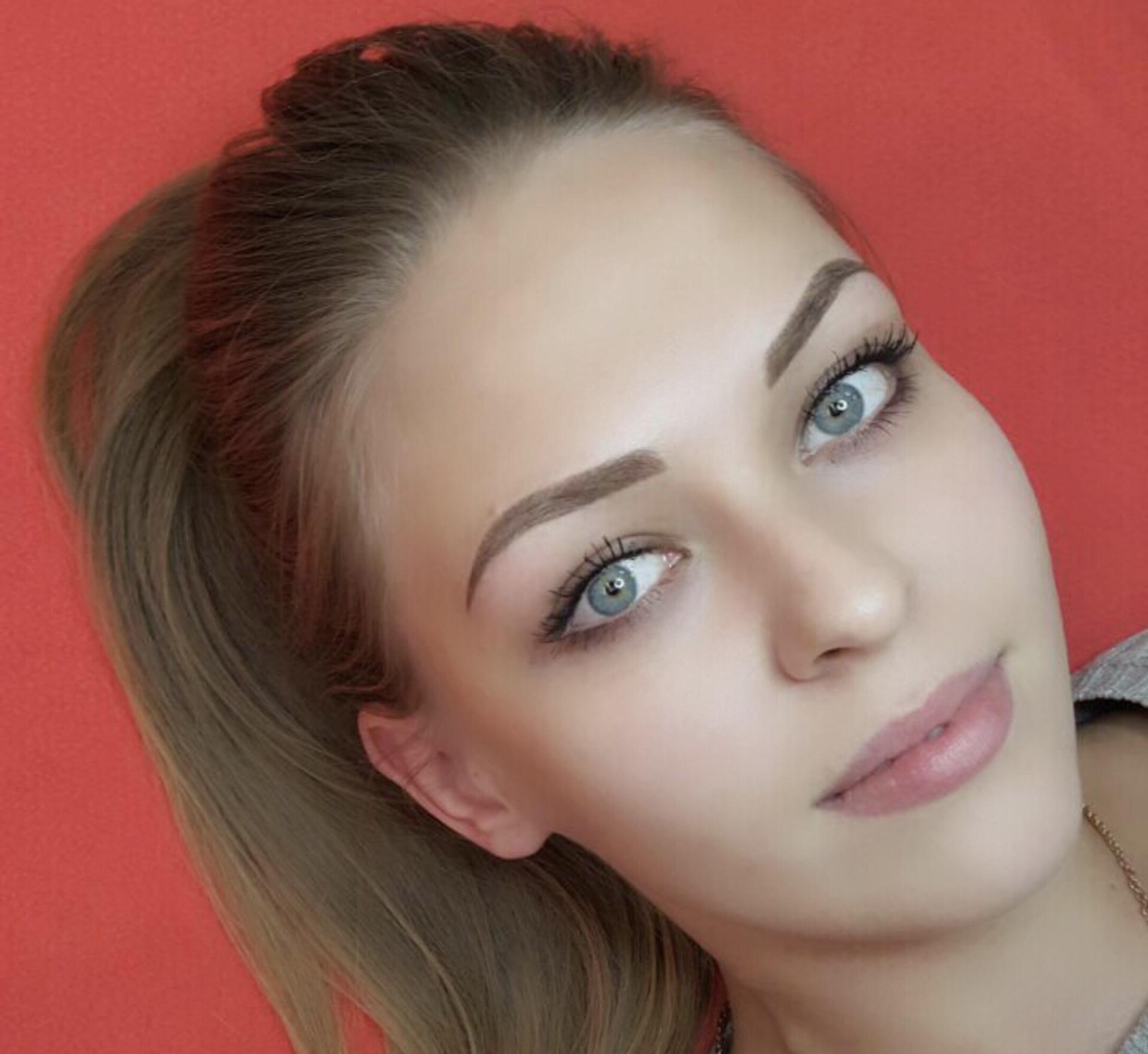 Как сделать светлые брови фото