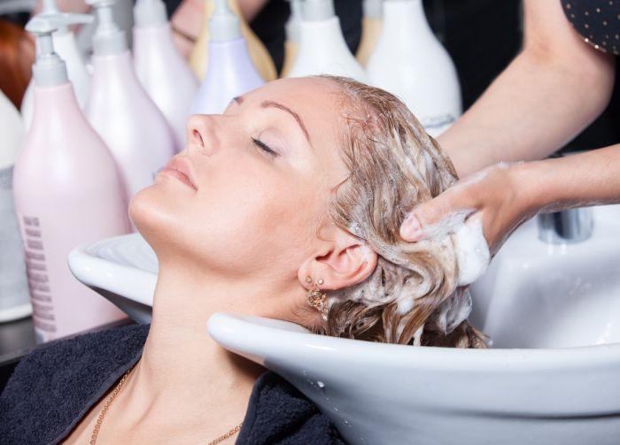 мытье головы при выпадении волос
