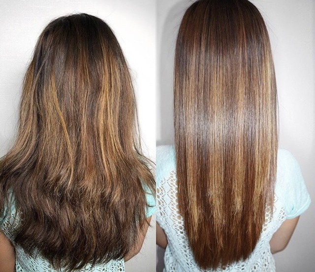 сколько держится нанопластика волос