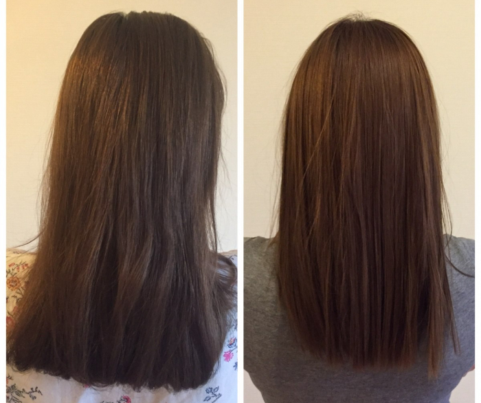 выпрямление волос нанопластикой